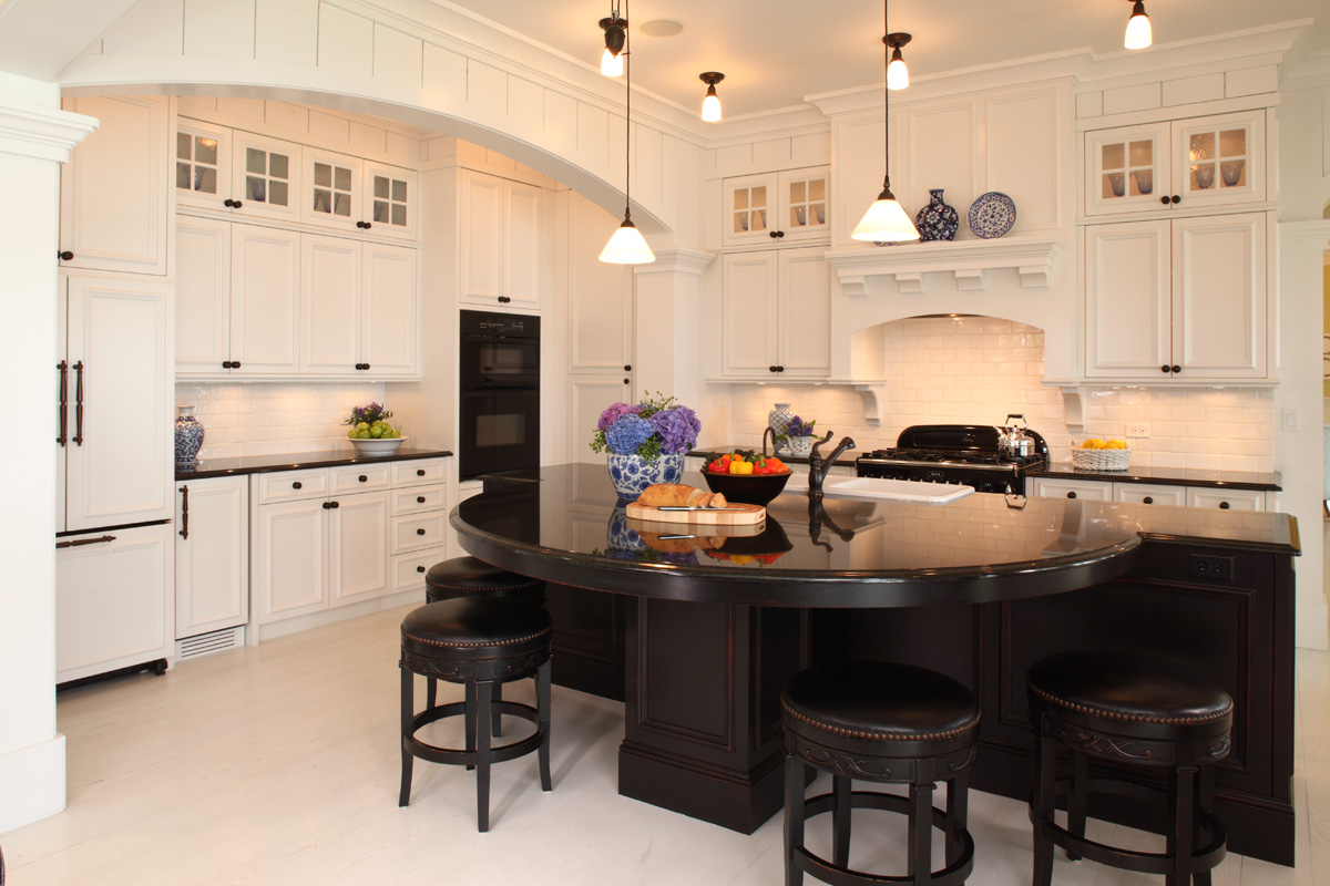 Black and white kitchen varieties steven cabinets blog for Kitchen cabinets houzz