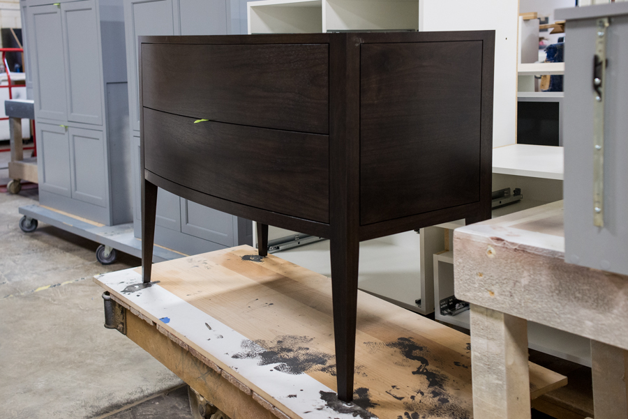 Curved Furniture Vanity
